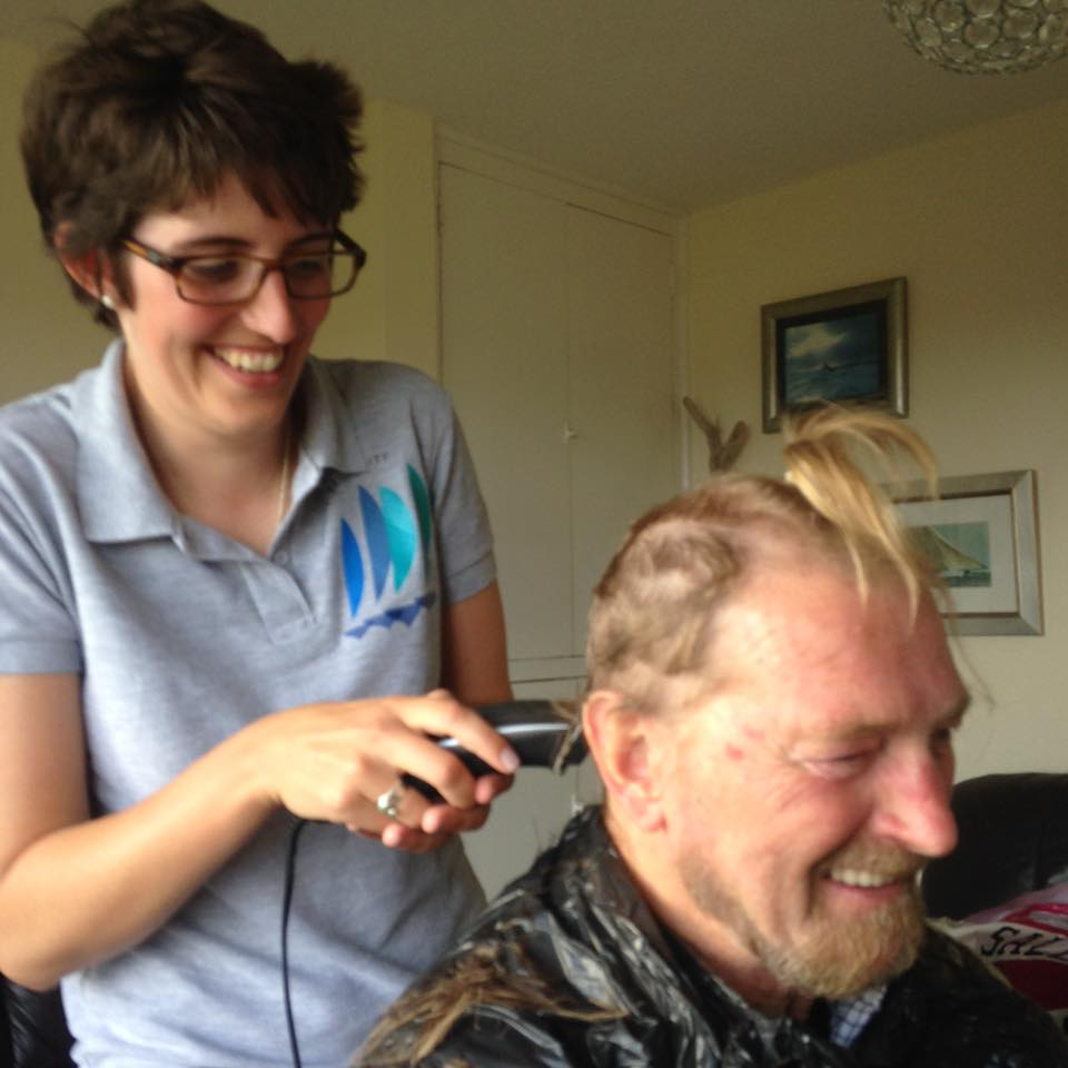 Shaving for Sailability!