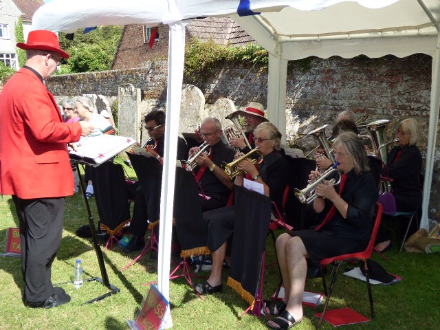 Brass Band and Afternoon Tea