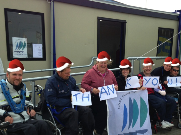 Christmas e-card from Chesil Sailability